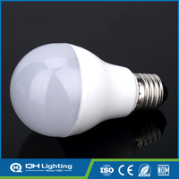 9w spare parts 9mm spiral cfl energy saving led lighting bulb