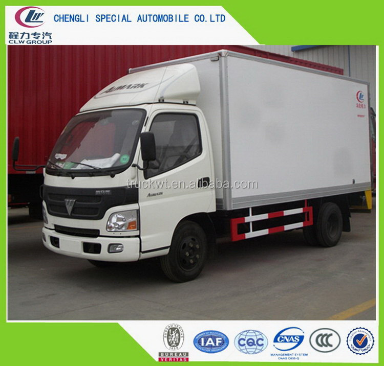 Excellent quality manufacture light refrigerated van