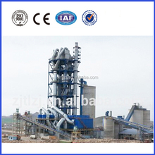 Low cost of cement plant construction, low cost of cement production line
