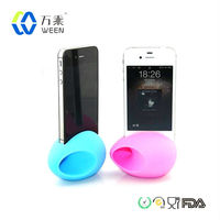 New Gadgets Silicone Egg Speaker For IPhone Samsung Galaxy S3