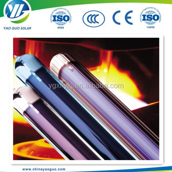 all glass solar vacuum tube&evacuated tubes for solar collector use