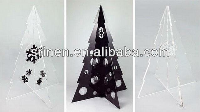 Modern style acrylic christmas tree buy acrylic christmas tree