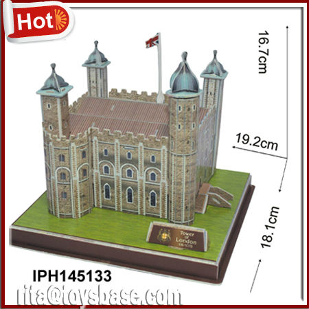 Tower of London world architecture 3d puzzle