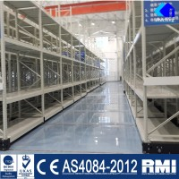 China Car Storage ISO9001 Electric Mobile Racking