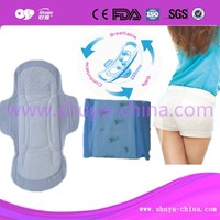 Hot air non-woven Sanitary napkins sanitary pads