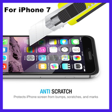 Wholesale for iphone 7 high clear tempered glass screen protector for iphone