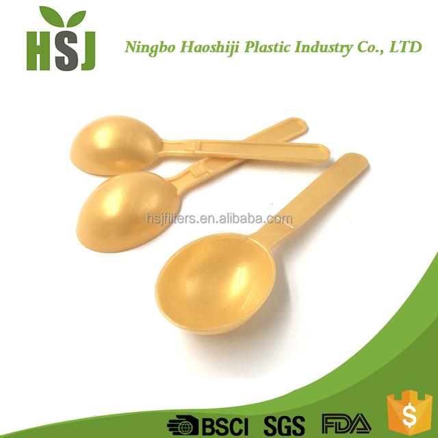 Standard biodegradable baby training icecream spoon