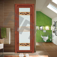Elegant bathroom door