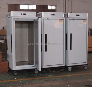 Commercial mobile banqueting trolley With GN cabinet for hotel/restaurant