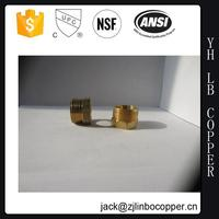 APEX Brass Pipe Fittings For Water Meter / Water Meter Connector