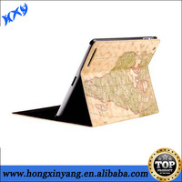 Leather Tablet Case For ipad mini Case world map pattern for ipad mini accessories