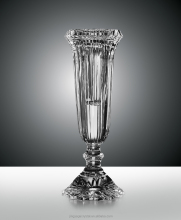 murano crystal vase for wedding centerpieces
