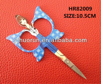 stainless steel beautiful HR82009 cuticle scissors