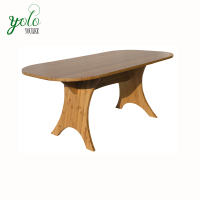Livingroom and office furniture 100% natural bamboo Eco-friendly material Bamboo Coffee Tea and center Tables
