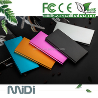 Dual USB Smart Phone And Tablet 2 port slim power bank
