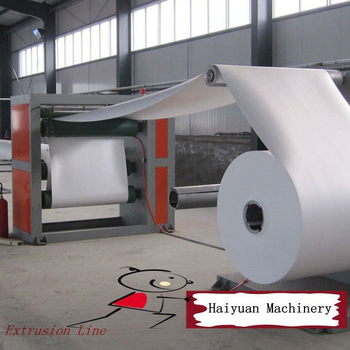 Haiyuan Brand Ps Foam Sheet Extrusion Line