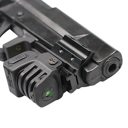 Subcompact USB rechargeable gun accessories green laser sight