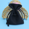 exquisite/elegant custom drawstring jewelry bags