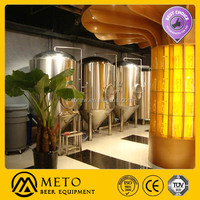 pub/hotel micro commercial beer brewing/brewery equipment for hot sale
