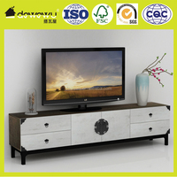 MDF modern living room furniture wooden tv stand pictures
