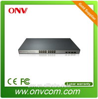 Full-Duplex & Half-Duplex 16 Port 10/100Mbps POE Ethernet Switch for network Power CCTV system poe power