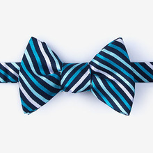 school fashion striped bow ties for wholesale