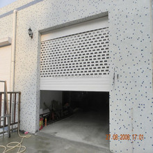 Automatic Perforated Rolling Door
