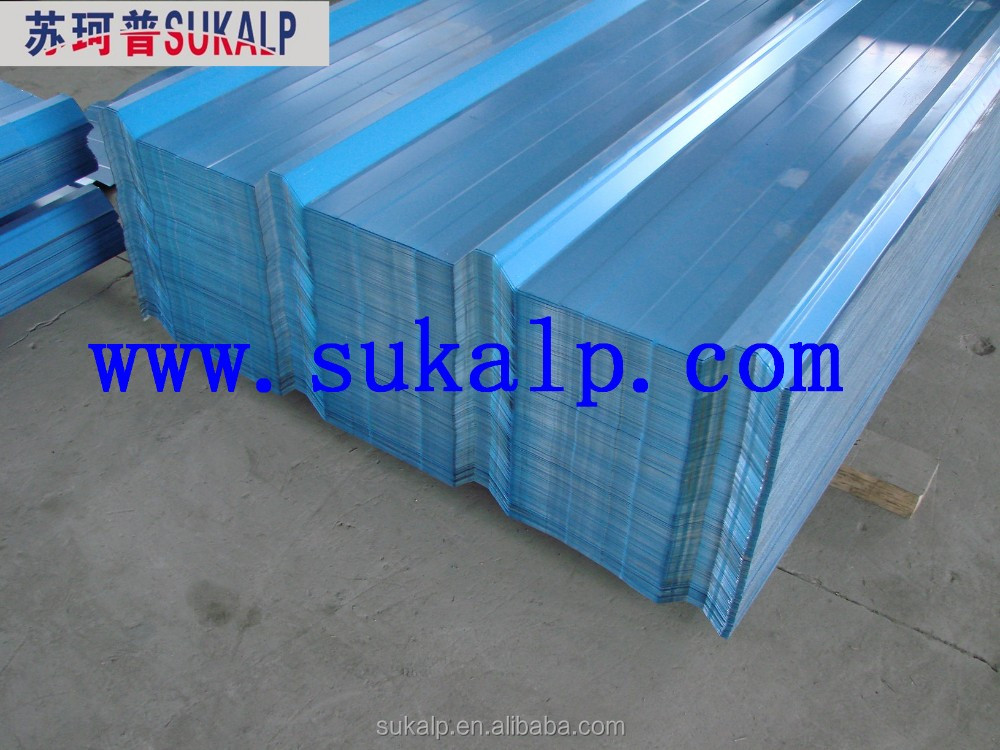 prepainted corrugated steel sheet with good price