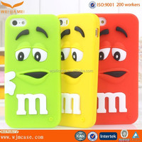 New design mobile phone cover, Cute silicone case for iphone 6