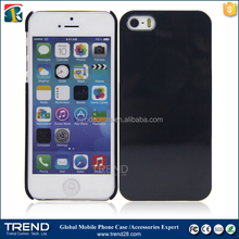 Cheap cell phone accessories uv oil coating cover for iphone 5s