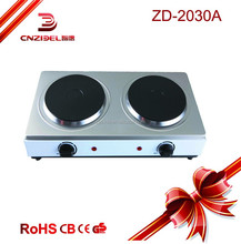 2000w new modern designed single coil burning stove