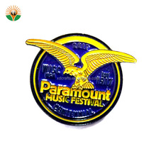 factory supply cheap customized design metal lapel pin badge custom soft enamel logo