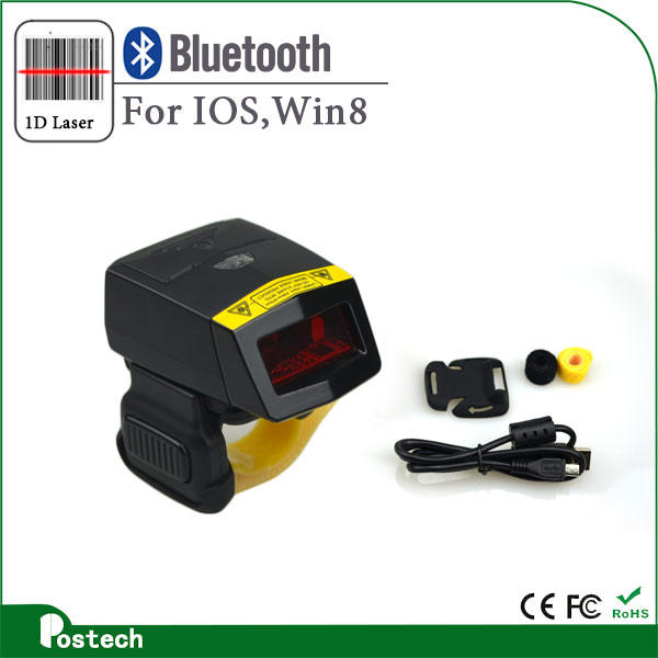 Original 1D laser bluetooth ring barcode scanner fs01 made in <strong>China</strong>