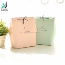 Best Selling Decorative Adorable Cake Paper Bag for Food with Ribbon Bow Tie