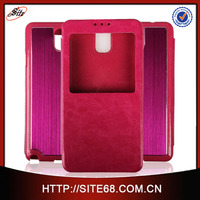 Wholesale Alibaba Leather Portfolio Case for Samsung Galaxy Note 3, Leather Cover for Samsung Note 3 with Factory Price