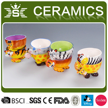 best selling ceramic animal shaped bowls for kids