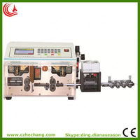Flexible Flat Cable electric cord cutting wire striping machine