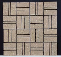 Customized clay mosaic bricks with different colors