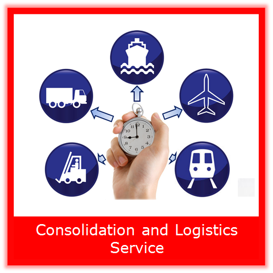 one stop freight forwarder agent with warehouse consolidation service
