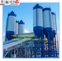 HZS60 Concrete batching plant with high configuration cement machine on sale