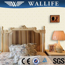 TN10802 bedroom decoration non woven wall covering material