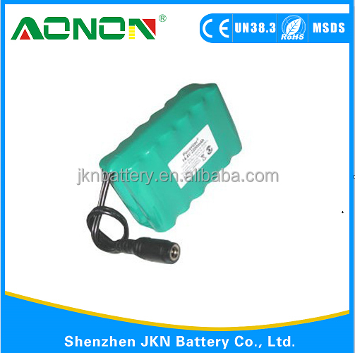 SC 14.4v 2500mah NIMH rechargeable battery packs for power tools