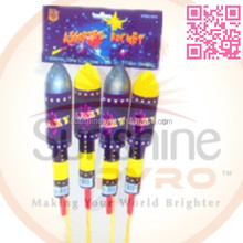SFB0840 assorted whistling bottle rocket fireworks for sale 40 inches