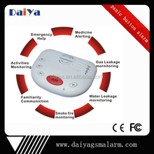 DaiYa 2015 hot sale gsm panic button for elderly kids sos alarm DY-A10