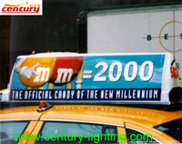 China manufacturer taxi top advertising