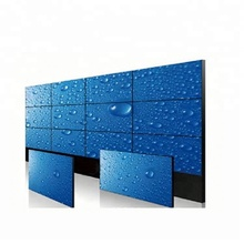55Inch 3x3 LCD Video Wall Display With IR Touch Screen For Exhibition meeting room shopping wall
