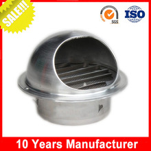 Hot sale stainless steel kitchen wall fresh directional air vent for hvac
