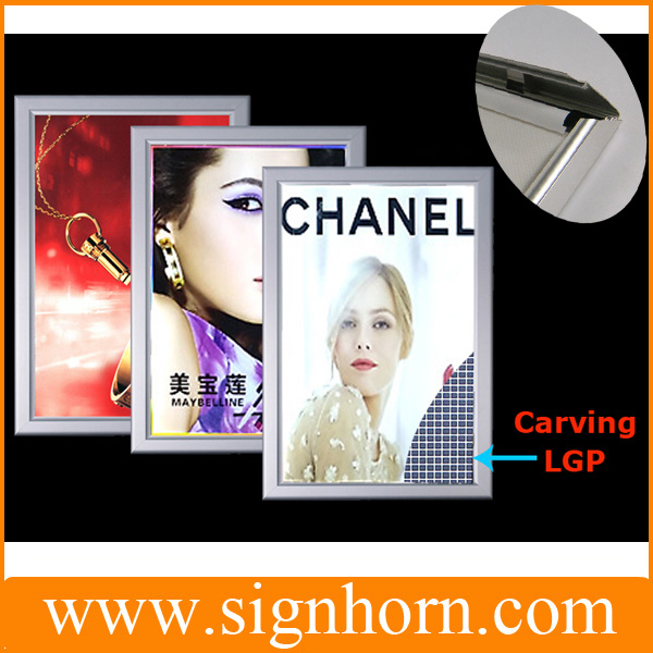 High quality LGP Acrylic led illuminated wholesale picture frame led light box