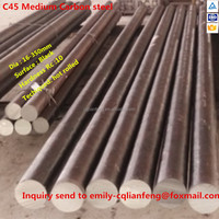 jis s45c hot rolled carbon steel round bar