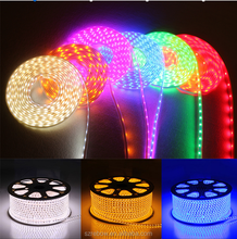 Ultra bright 5050 LED Strip 220v 110v high voltage colorful led strip 220v